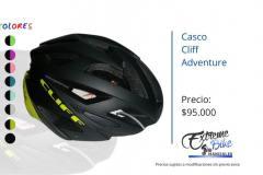 Casco-Ciclismo-Cliff-Adventure