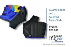Guantes-ciclismo-dedo-corto-Adriani-Colombia