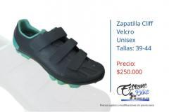 Zapatilla-ciclismo-Cliff-velcro